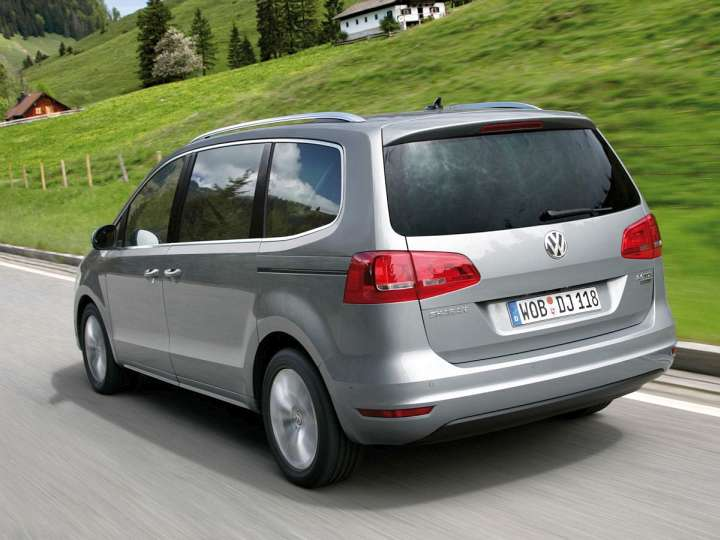 Volkswagen Sharan II Two.0 TDi 140 HP