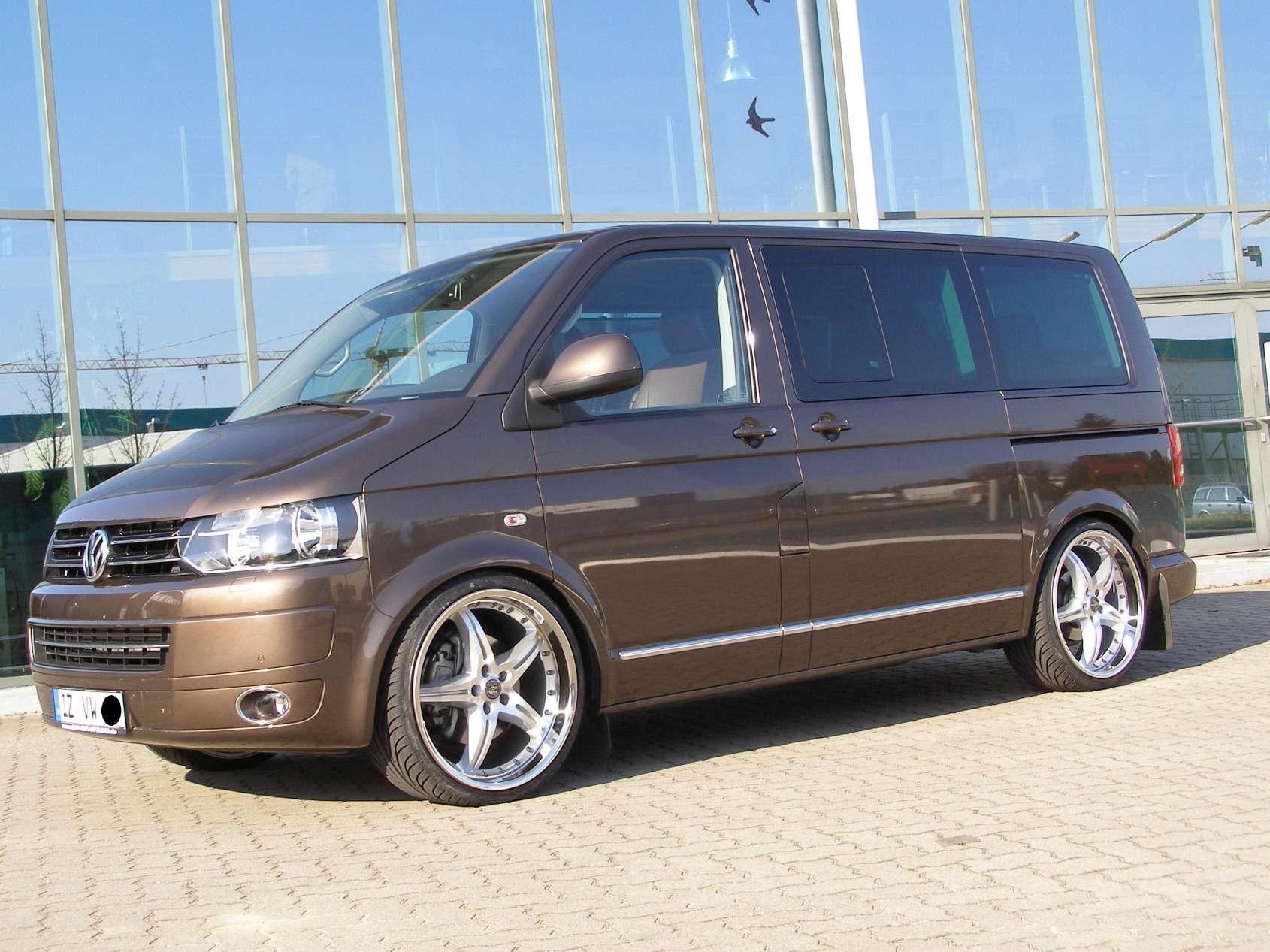 Volkswagen Transporter T5 Facelift 4MOTION 2.0d MT (140 HP) 4WD
